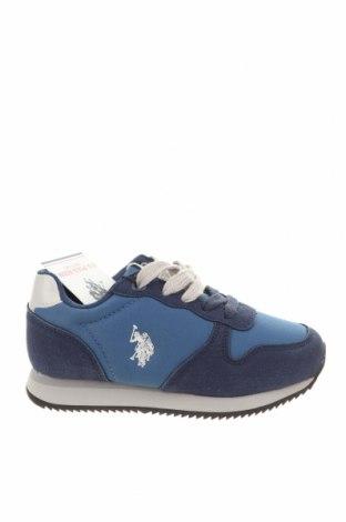 Παιδικά παπούτσια U.S. Polo Assn., Μέγεθος 30, Χρώμα Μπλέ, Κλωστοϋφαντουργικά προϊόντα, Τιμή 38,27€