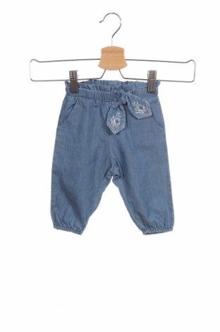 Dětské kalhoty  Chloé, Velikost 3-6m/ 62-68 cm, Barva Modrá, Bavlna, Cena  1775,00Kč