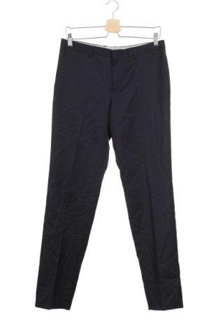 Детски панталон Here+There, Размер 15-18y/ 170-176 см, Цвят Син, 60% вълна, 40% полиестер, Цена 6,30лв.