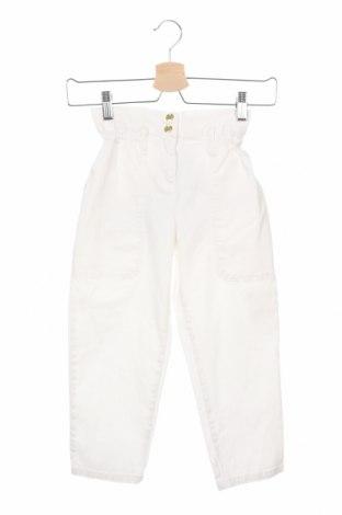Dětské kalhoty  Little Marc Jacobs, Velikost 4-5y/ 110-116 cm, Barva Bílá, 97% bavlna, 3% elastan, Cena  706,00Kč