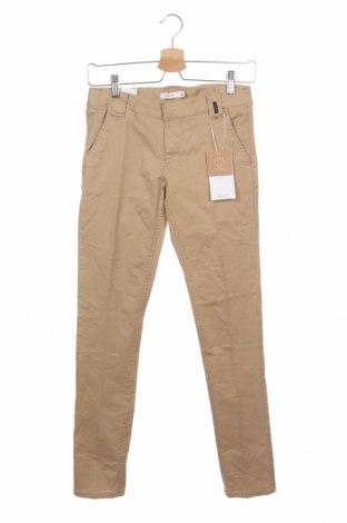 Παιδικό παντελόνι Name It, Μέγεθος 12-13y/ 158-164 εκ., Χρώμα  Μπέζ, 98% βαμβάκι, 2% ελαστάνη, Τιμή 16,08€