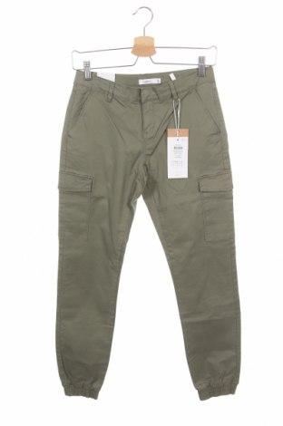 Παιδικό παντελόνι Name It, Μέγεθος 12-13y/ 158-164 εκ., Χρώμα Πράσινο, 98% βαμβάκι, 2% ελαστάνη, Τιμή 17,68€
