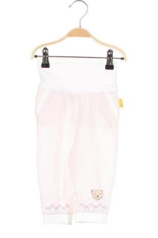 Παιδικό παντελόνι Steiff, Μέγεθος 3-6m/ 62-68 εκ., Χρώμα Ρόζ , 95% βαμβάκι, 5% ελαστάνη, Τιμή 20,10€