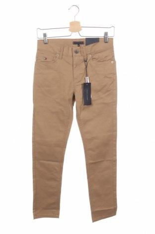 Παιδικό παντελόνι Tommy Hilfiger, Μέγεθος 11-12y/ 152-158 εκ., Χρώμα Καφέ, 97% βαμβάκι, 3% ελαστάνη, Τιμή 45,21€