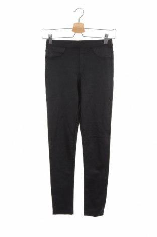 Детски панталон Zara, Размер 13-14y/ 164-168 см, Цвят Черен, 25% полиестер, 5% еластан, 70% памук, Цена 5,50лв.