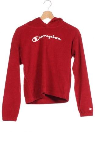Παιδικό fleese φούτερ Champion, Μέγεθος 13-14y/ 164-168 εκ., Χρώμα Κόκκινο, 100% πολυεστέρας, Τιμή 17,78€