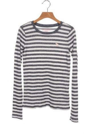 Детски пуловер Abercrombie Kids, Размер 11-12y/ 152-158 см, Цвят Син, 52% вискоза, 44% полиестер, 4% еластан, Цена 9,91лв.