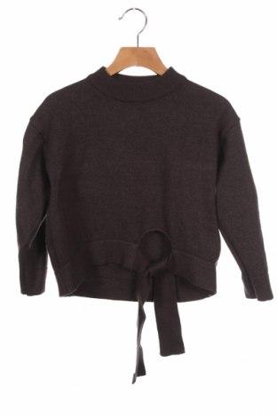 Dětský svetr  Zara Knitwear, Velikost 6-7y/ 122-128 cm, Barva Šedá, 53% viskóza, 28% polyester, 19% polyamide, Cena  383,00Kč