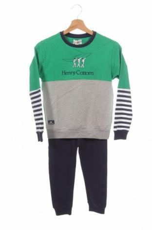 Παιδικό συνολακι Henry Cotton's, Μέγεθος 7-8y/ 128-134 εκ., Χρώμα Πολύχρωμο, 95% βαμβάκι, 5% ελαστάνη, Τιμή 32,12€