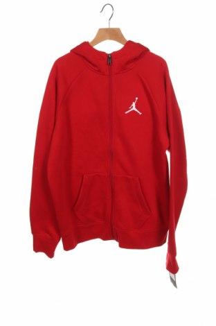 Παιδικό φούτερ Air Jordan Nike, Μέγεθος 12-13y/ 158-164 εκ., Χρώμα Κόκκινο, 60% βαμβάκι, 40% πολυεστέρας, Τιμή 38,27€