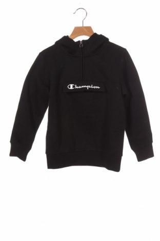 Παιδικό φούτερ Champion, Μέγεθος 7-8y/ 128-134 εκ., Χρώμα Μαύρο, 60% βαμβάκι, 40% πολυεστέρας, Τιμή 26,68€