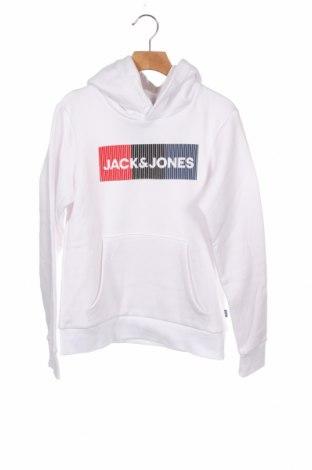 Παιδικό φούτερ Jack & Jones, Μέγεθος 11-12y/ 152-158 εκ., Χρώμα Λευκό, 70% βαμβάκι, 30% πολυεστέρας, Τιμή 26,68€