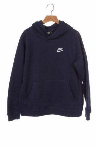 Παιδικό φούτερ Nike, Μέγεθος 10-11y/ 146-152 εκ., Χρώμα Μπλέ, 80% βαμβάκι, 20% πολυεστέρας, Τιμή 30,54€