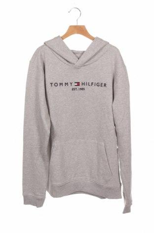 Παιδικό φούτερ Tommy Hilfiger, Μέγεθος 15-18y/ 170-176 εκ., Χρώμα Γκρί, 98% βαμβάκι, 2% ελαστάνη, Τιμή 30,62€