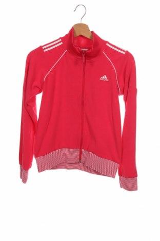Dětská horní část sportovní soupravy Adidas, Velikost 10-11y/ 146-152 cm, Barva Růžová, Polyester, Cena  431,00Kč