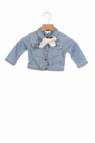 Dětská bunda  Chloé, Velikost 3-6m/ 62-68 cm, Barva Modrá, 98% bavlna, 2% elastan, Cena  2581,00Kč