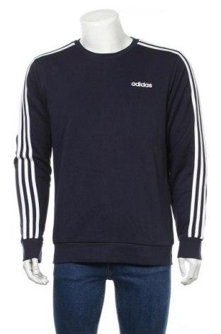 Ανδρική μπλούζα Adidas, Μέγεθος L, Χρώμα Μπλέ, 70% βαμβάκι, 30% πολυεστέρας, Τιμή 27,34€