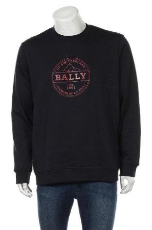 Ανδρική μπλούζα Bally, Μέγεθος XL, Χρώμα Μπλέ, 95% βαμβάκι, 5% πολυαμίδη, Τιμή 120,03€