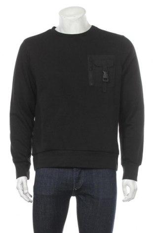 Мъжка блуза Brave Soul, Размер L, Цвят Черен, 80% памук, 20% полиестер, Цена 20,16лв.
