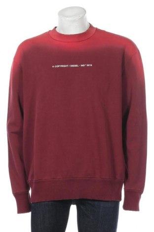 Мъжка блуза Diesel, Размер L, Цвят Розов, Памук, Цена 67,05лв.