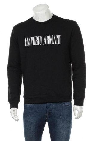 Ανδρική μπλούζα Emporio Armani, Μέγεθος L, Χρώμα Μαύρο, 74% βαμβάκι, 26% πολυεστέρας, Τιμή 76,77€