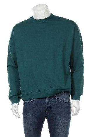 Bluză de bărbați Even&Odd, Mărime L, Culoare Verde, 60% bumbac, 40% poliester, Preț 48,75 Lei