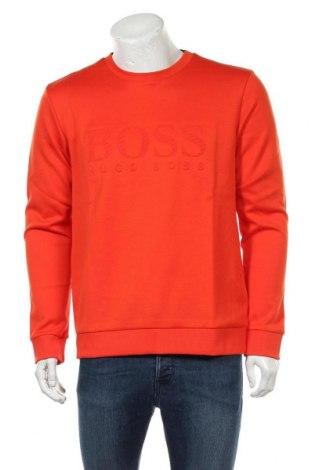 Ανδρική μπλούζα Hugo Boss, Μέγεθος XL, Χρώμα Πορτοκαλί, 97% βαμβάκι, 3% ελαστάνη, Τιμή 104,00€