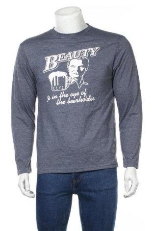 Мъжка блуза LOWES, Размер S, Цвят Син, Полиестер, памук, Цена 9,45лв.