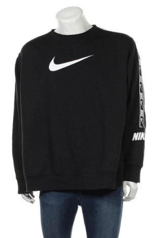 Ανδρική μπλούζα Nike, Μέγεθος XXL, Χρώμα Μαύρο, 80% βαμβάκι, 20% πολυεστέρας, Τιμή 31,20€