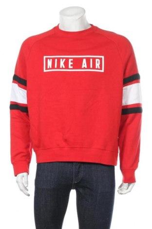 Ανδρική μπλούζα Nike, Μέγεθος M, Χρώμα Κόκκινο, 80% βαμβάκι, 20% πολυεστέρας, Τιμή 35,75€