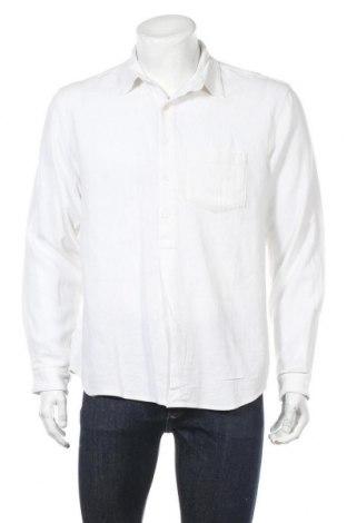 Ανδρική μπλούζα Resterods, Μέγεθος M, Χρώμα Λευκό, 39% βισκόζη, 36% λινό, 25% βαμβάκι, Τιμή 17,01€