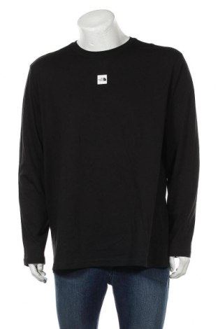 Ανδρική μπλούζα The North Face, Μέγεθος XL, Χρώμα Μαύρο, Βαμβάκι, Τιμή 45,21€