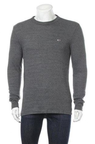 Ανδρική μπλούζα Tommy Hilfiger, Μέγεθος L, Χρώμα Γκρί, 58% βαμβάκι, 38% πολυεστέρας, 4% ελαστάνη, Τιμή 31,55€
