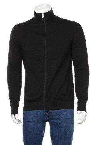 Ανδρική ζακέτα Selected Homme, Μέγεθος M, Χρώμα Μαύρο, Βαμβάκι, Τιμή 26,68€