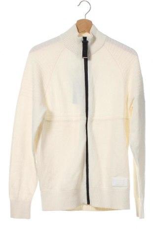 Ανδρική ζακέτα Tommy Hilfiger, Μέγεθος XS, Χρώμα Εκρού, Βαμβάκι, Τιμή 59,23€