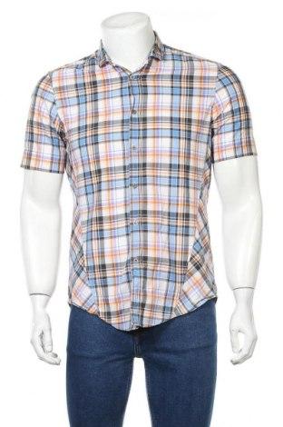 Мъжка риза Boss Orange, Размер S, Цвят Многоцветен, Памук, Цена 25,20лв.