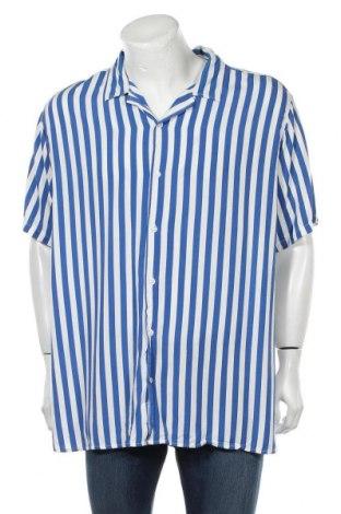 Мъжка риза Denim Project, Размер 3XL, Цвят Син, Вискоза, Цена 33,00лв.