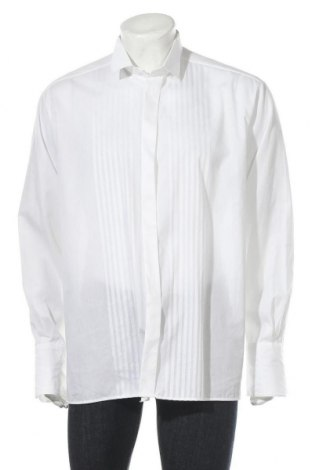 Мъжка риза Eterna, Размер L, Цвят Бял, Памук, Цена 14,18лв.