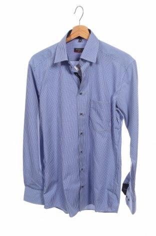Мъжка риза Eterna, Размер S, Цвят Син, Памук, Цена 22,77лв.