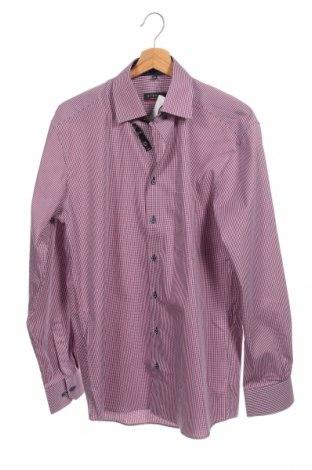 Мъжка риза Eterna, Размер M, Цвят Червен, Памук, Цена 24,15лв.