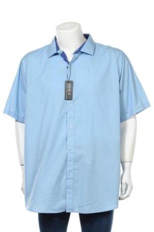 Pánská košile  Galaxy By Harvic, Velikost 3XL, Barva Modrá, 60% bavlna, 40% polyester, Cena  332,00Kč