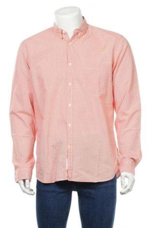 Мъжка риза H&M L.O.G.G., Размер L, Цвят Оранжев, Памук, Цена 17,25лв.