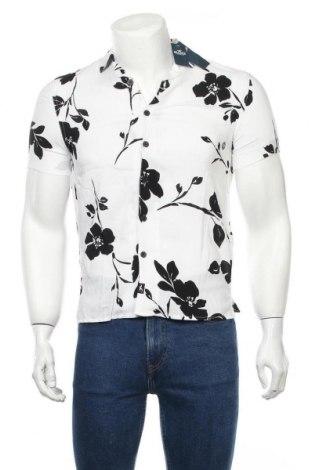 Ανδρικό πουκάμισο Hollister, Μέγεθος XXS, Χρώμα Λευκό, Βισκόζη, Τιμή 24,12€