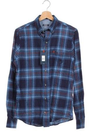 Pánská košile  Izod, Velikost S, Barva Modrá, 55% bavlna, 45% polyester, Cena  200,00Kč