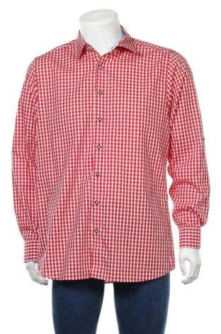 Мъжка риза Olymp, Размер XL, Цвят Червен, Памук, Цена 22,05лв.