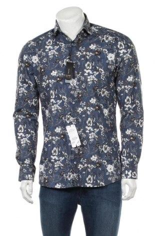 Мъжка риза Olymp, Размер M, Цвят Многоцветен, Памук, Цена 44,25лв.