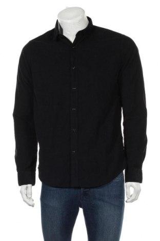 Мъжка риза O'neill, Размер M, Цвят Черен, Памук, Цена 66,75лв.
