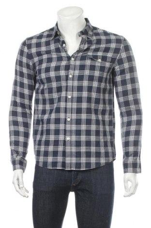 Мъжка риза Pier One, Размер S, Цвят Син, 55% памук, 45% лиосел, Цена 42,00лв.