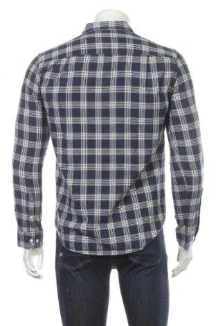 Мъжка риза Pier One, Размер S, Цвят Син, 55% памук, 45% лиосел, Цена 14,00лв.