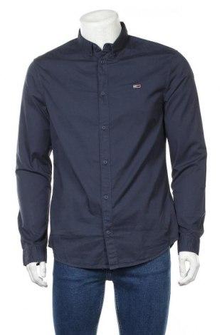 Ανδρικό πουκάμισο Tommy Hilfiger, Μέγεθος L, Χρώμα Μπλέ, Βαμβάκι, Τιμή 48,54€